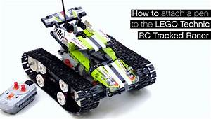 Lego Technic Erwachsene : how to attach a pen to the lego technic rc tracked racer ~ Jslefanu.com Haus und Dekorationen