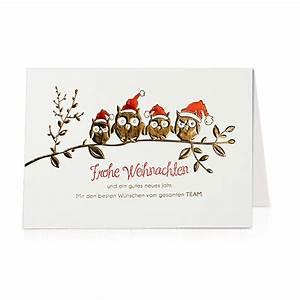 Weihnachtskarten Bestellen Günstig : weihnachtskarte eule online bestellen ~ Markanthonyermac.com Haus und Dekorationen