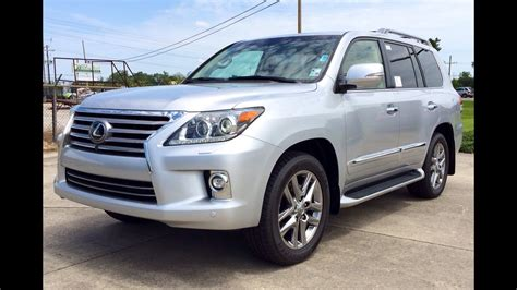 Review Lexus Lx by 2015 Lexus Lx 570 Exhaust Start Up Review