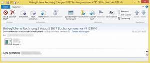 Unbeglichene Rechnung : unbeglichene rechnung 3 august 2017 buchungsnummer 47152810 von stellvertretender rechtsanwalt ~ Themetempest.com Abrechnung