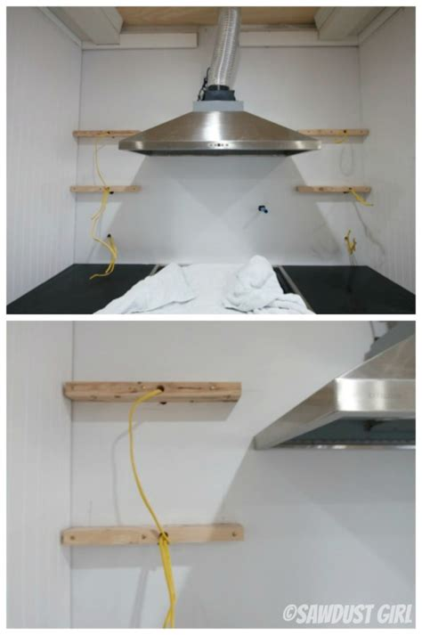 how to put up a shelf how to install floating shelves sawdust 174