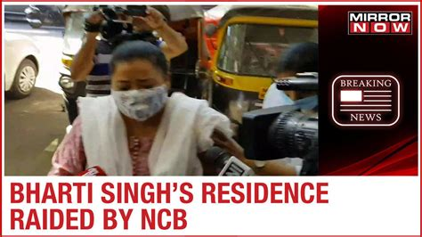 NCB raids comedian Bharti Singh's residence in connection ...