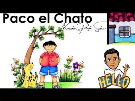 """Preferido y anótenlo en el pizarrón. CUENTO """"PACO EL CHATO"""" - YouTube"""