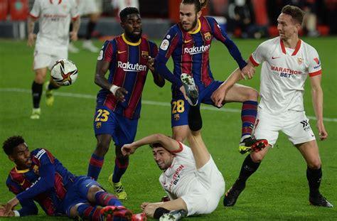 Une semaine avant de recevoir le PSG, le Barça dominé par ...