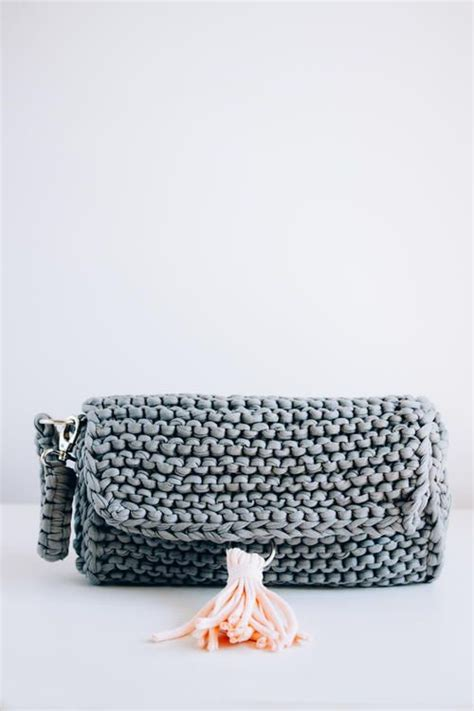 perfect knitted clutch knitted bags knitting