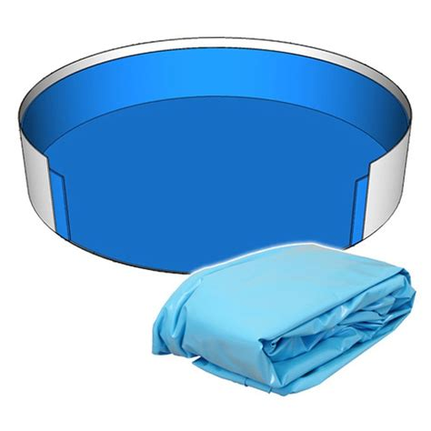 poolfolie innenh 252 lle rund pool 360 x 120 cm 0 8 mm blau