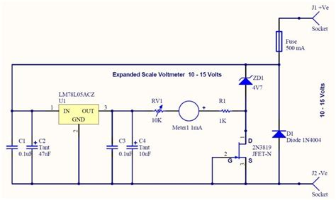 Expanded Scale Voltmeter