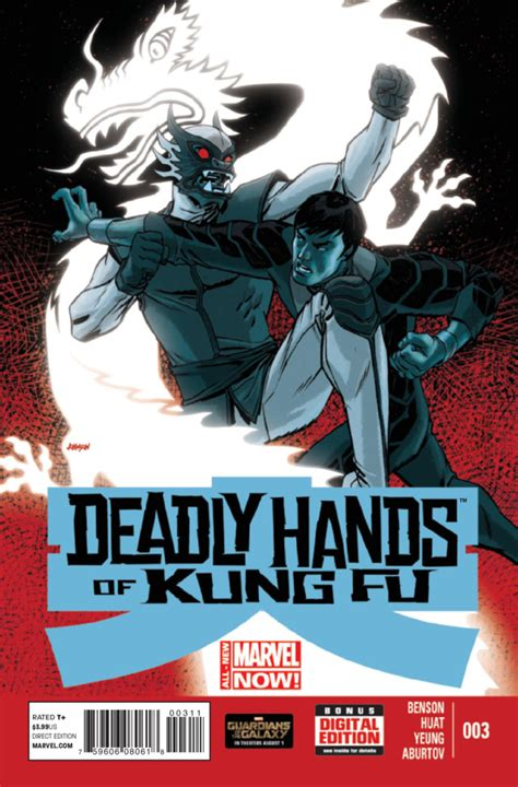 deadly hands  kung fu  blood brother issue