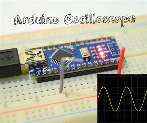 arduino oscilloscope    channel  steps