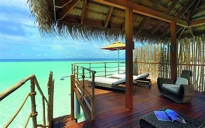 Nature Tropical Resort Malediven Urlaub Desktop Wallpapers