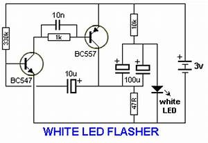 flasher circuits With led blinker circuit