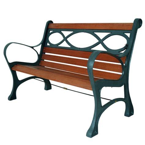 panchina in legno panchina houston in legno e ghisa pratiko store