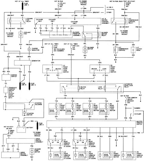 94 Cavalier Wiring Diagram by Chevrolet Cavalier Questions 93 Cavalier Keeps Blowing
