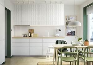 Ikea Cuisine Blanche : cuisine ikea nos mod les de cuisines pr f r s elle d coration ~ Melissatoandfro.com Idées de Décoration
