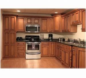 Wooden Kitchen Cabinet Hpd455 - Kitchen Cabinets - Al