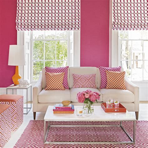 Colour school: How to decorate with hot pink and orange
