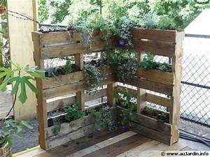 Recyclage Palette : les palettes au jardin ~ Melissatoandfro.com Idées de Décoration