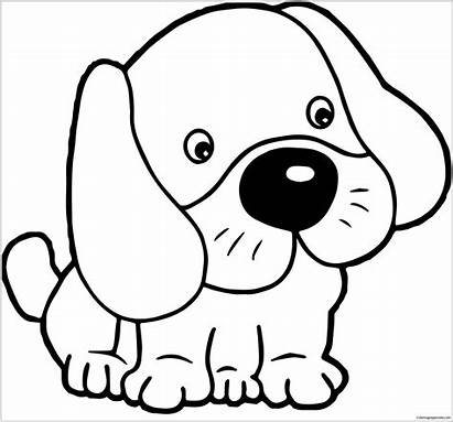 Puppy Dogs Dog Pages Coloring Outline Coloringpagesonly