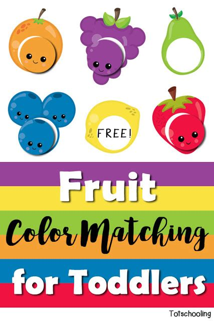 fruit color matching for toddlers totschooling toddler 867 | Fruit Color Matching for Toddlers