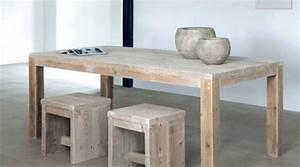 Möbel Aus Altem Bauholz : recycling esszimmertische aus alten materialien ~ Bigdaddyawards.com Haus und Dekorationen