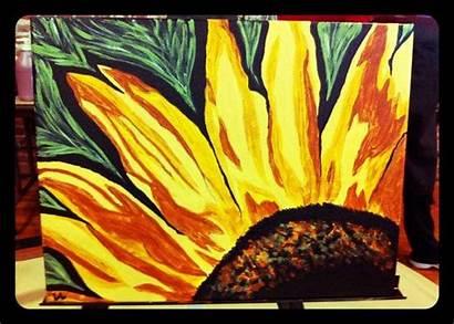 Paintings Georgia Keeffe Grade Sunflower Mom Elementary