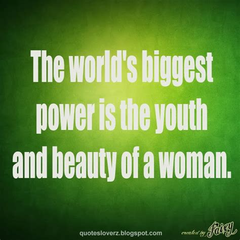 Beauty Quotes About Youth Quotesgram