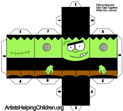 Best Photos Of Paper Halloween Templates  Free Printable