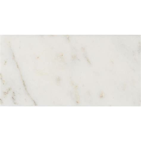 marble wall tiles shop anatolia tile 8 pack venatino polished subway marble wall tile common 3 in x 6 in actual
