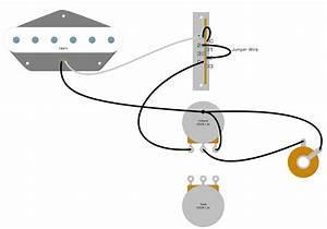 Single Pickup Telecaster Wiring Diagram