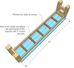 DIY Bench Seat Plans