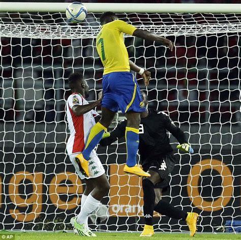Burkina Faso 0-2 Gabon: Dortmund striker Pierre-Emerick ...