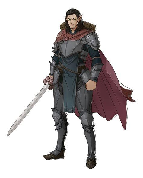 Sturm Brightblade, Half-elf Paladin. | Rpg character, Elf ...
