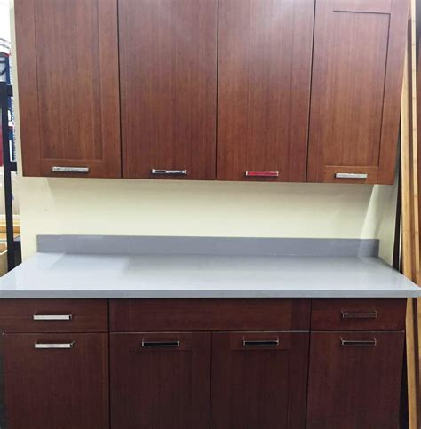discontinued bamboo flat panel door kitchen cabinets