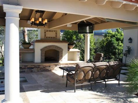 outdoor rooms with fireplaces photo page hgtv