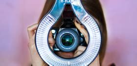 ring flash channels  dslrs existing light tested