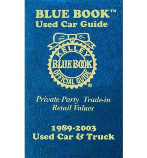 Kelley Blue Book Used Car Guide Consumer Edition, January
