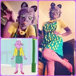 Princess Caroline costume from Bojack Horseman, crocheted ...