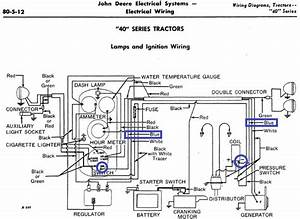 John Deere 40 Electrical Question - John Deere Forum