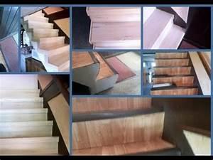 Kit Réparation Carrelage : kit r novation escalier bois genas 69740 youtube ~ Premium-room.com Idées de Décoration
