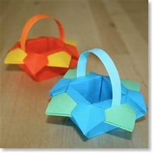 Objet En Carton Facile A Faire : 1000 images about paniers on pinterest bricolage easter baskets and origami ~ Melissatoandfro.com Idées de Décoration