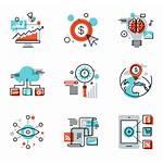 Marketing Icons Market Digital Vector Flaticon Clipart