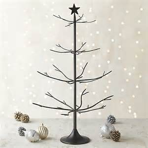bronze with brass solder ornament tree in decor crate and barrel