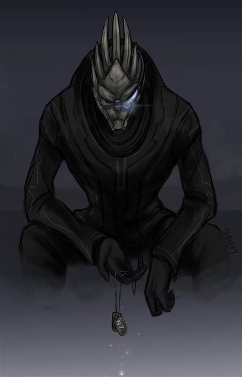 Cross Species Liaison The Garrus And Turians Love