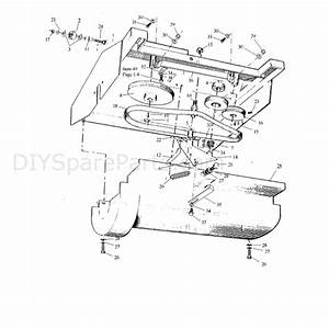 Hayter Condor  511l  Parts Diagram  Transmission Assy