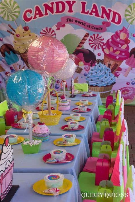 candy land birthday party ideas   candy party