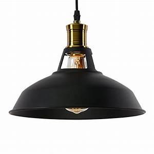 Lampe Metall Schwarz : buyee moderne klassiker industrial metal deckenleuchte ~ Articles-book.com Haus und Dekorationen