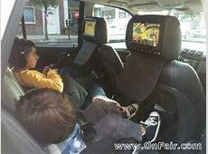 Headrest DVD Player install in 2002 Mercedes Benz Revew