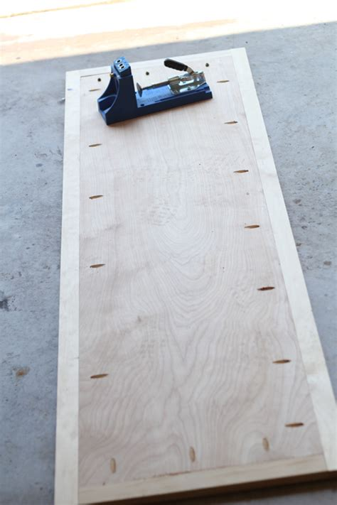 woodwork dresser plans kreg  plans