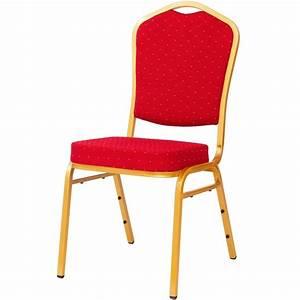 Chaises Rouge Mouchete De Banquet Et Hotel GASTROMASTRO