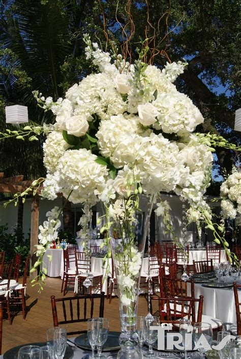 Tall Hydrangea Centerpieces For Weddings Tall